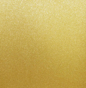Best Creation 30cm by 30cm Glitter Cardstock, Gold