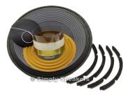 SS Audio Recone Kit for 30cm JBL 2206H Woofer, 8 Ohms, RK-JBL2206-8
