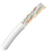 CAT5E Outdoor UV Rated Bulk Cable - White Jacket -0.3m