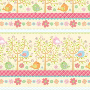The Gift Wrap Company 12-Rolls Heavy Weight Wrapping Paper, Little Tweet
