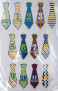 1st Year Photo Stickers- Boy Ties