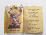 St Michael the Archange Medal with Holy Card