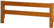 100% Solid Wood Safety Rail Guard • Honey Pine • 37cm h x 110cm w • 5.1cm x 5.1cm Posts • Rubberized Metal Connectors Included • Maximum Mattress Height 20cm • Compatible With All Beds, Bunk Beds with Rails Up To 2.5cm Thick • Requires As ..