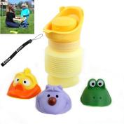Estone® Portable Urinal Car Travel Toilet Kid Unisex Potty Training Pee Camping 400ML