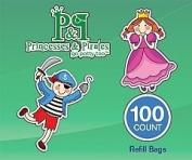 Princesses & Pirates Go Potty Too Refill Bags