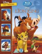 The Lion King Trilogy [Region B] [Blu-ray]