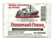 FISHERMANS FRIEND 20 LOZENGES 10MG ORIGINAL EXTRA STRONG