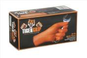 TIGER GRIP 7 mil superior grip Orange Nitrile Gloves - XL