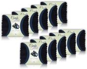 Comfy Black Microfiber Salon Towels - 100 Pack , 70cm x 41cm