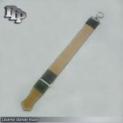 DDP Professional Leather Barber Strop Straight Razor Sharpener 5.1cm X 41cm # 160