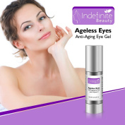 ☆☆Best Anti Wrinkle Eye Cream☆☆Top Under Eye Dark Circle Treatment ● Anti Wrinkle Firming Eye Treatment ● Crow's Feet Cream ● Anti Ageing Eye Gel With Vitamin C ● Ageless Eyes InDefinite Beauty by Uplifting Beauty● 100% MONEY BACK GUA ..