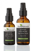 GUARANTEED BEST Hyaluronic Acid Moisturiser For Your Face, Our Anti Ageing Vitamin C Serum Contains Botanical Hyaluronic Acid + 10% Vitamin C + Vitamin E + Organic Aloe, Our Top Anti Wrinkle Skin Care Product Will Moisturise & Hydrate Dull Skin, Fillin ..