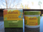 NEW ALBA BOTANICA NATURAL HAWAIIAN ALOE & GREEN TEA OIL-FREE moisturiser 90ml