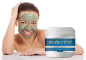 Bentonite Clay - Best Top Healing Clay - Finest Azteca Gold Blended Clay, Purest Highest Quality You Can Buy - The Real Anti Ageing Secret Your Face Needs To Stay Looking Young, Detox, Deep Pore Cleaning, Strongest Strength. 100% Natural Ultra Pure, Hy ..