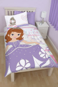 Disney Sofia The First Academy Panel Single Duvet Cover