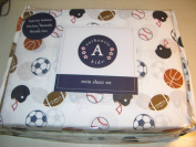 Authentic Kids Sports Balls Twin Sheet Set