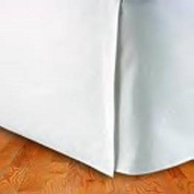 Queen Size Tailored Pleated Bed Skirt