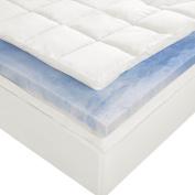 Sleep Innovations 10cm Dual Layer Queen Mattress Topper