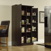 Large Double Door Storage Cabinet - Dakota Oak Finish