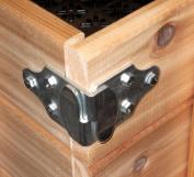 Trailer Wood Sides Latch Rack Stake Body Gates Corner Brackets - 2 set PK-SB