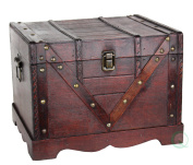 Wooden Treasure Box, Old Style Treasure Chest