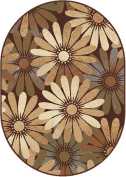 Universal Rugs 5350 Elegance Oval Area Rug, 1.8m by 2.7m, Multi
