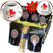 cgb_118790_1 Dooni Designs More Random Cartoon Designs - Silly Cartoon Vet Veterinarian - Coffee Gift Baskets - Coffee Gift Basket