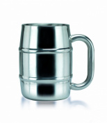 "Old Dutch ""Keep-Kool"" Double Wall Stainless Steel Mug, 500ml"