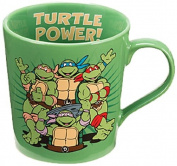 Vandor 38061 Teenage Mutant Ninja Turtles Ceramic Mug, 350ml, Multicolor