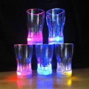 Firefly LED Light Colourful Flashing Beer Mug Coke-Cola Juice Drink Cup For Party, Nightclub,Bar Decorative