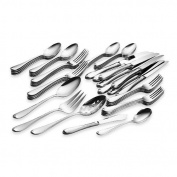 Gorham Studio Stainless 45 Piece Set-service for 8 & 5 Serving Pieces