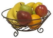 Home Basics Scroll Collection Fruit Basket