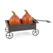 Pumpkin Waggon 3-piece Salt & Pepper Shaker Set