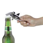 Umbra Hammered Head Bottle Opener, Chrome