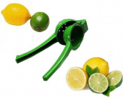 Chef's Star New Metal Lemon/Lime Squeezer/Hand Juicer with Enamel Colour Coating