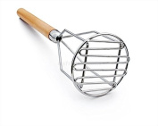 New Star Foodservice 37630 Commercial Grade Potato Masher, 46cm , Round