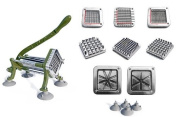 New Star 38408 Commercial Grade French Fry Cutter, Complete Combo Sets