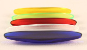 Rattleback - Plastic Assorted Colours - Pack of 10 with Teacher's Guide