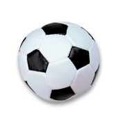 TWO DOZEN 5.1cm SOFT STUFF SOCCER BALLS -Party Favour-Game Prizes Sports Themed Birthday Parties-Package of 24