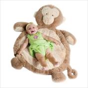 Bestever New Baby monkey mat Rug plush toy Cushion gift
