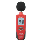 Pyle PSPL25 Digital Handheld Sound Level Metre with A and C Frequency Weighting for Musicians and Sound Audio Professionals