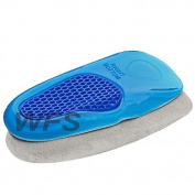 UK 3/4 GEL ORTHOTIC HIGH QUALITY NEW ORTHOTIC ARCH SUPPORT MASSAGING GEL INSOLES