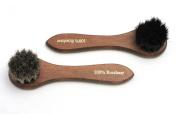 Dauber Application Brush Pack Black and Natural 100% Horse Hair