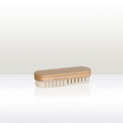 Beech Wood suede brush with rubber crepe to refresh flattened suede/nubuck nappa.