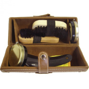 Shoe String Unisex-Adult Brown Barrel Shoe Cleaning Care Kits