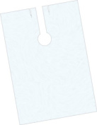 Olivia Garden Fripac-Medis Fastenable Hairdressing Cape for Single Use, Transparent, 140 x 100 cm, Bag of 100