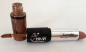 New Eve Perfect C 2 in1 Eyebrow Concealer and Eyelid Primer WALNUT Cosmetic Duo Makeup