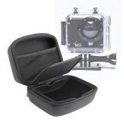 DURAGADGET Jet Black Hard EVA Carry Case For Kaiser Baas X80 Action Camera
