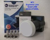 MTI Supreme Blue AK 54-XT2BL Quad LNB