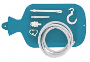 Enema nozzle kit - 1.5ltr. Home enema kit for colonic irrigation. Clean stream.